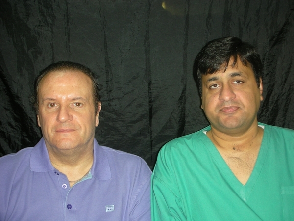 Dr.Ahmad Chaudhry with Geof
